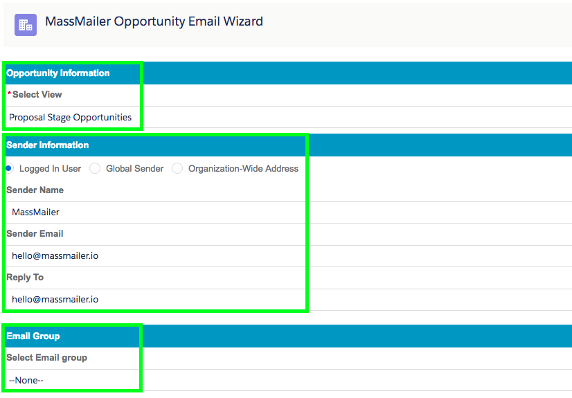 Send Mass Emails To Opportunity Contact Roles in Salesforce