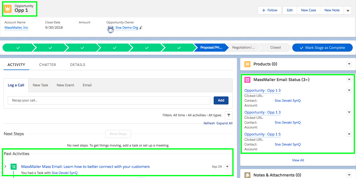 Send Mass Emails To Opportunity Contact Roles in Salesforce and Track Emails and Statistics