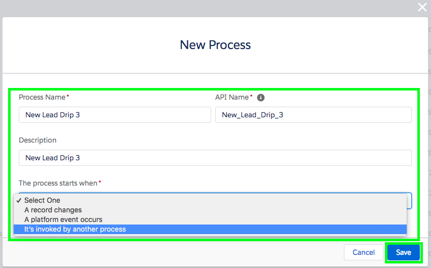 Setup Email Drip Campaign in Salesforce - Step 5-1