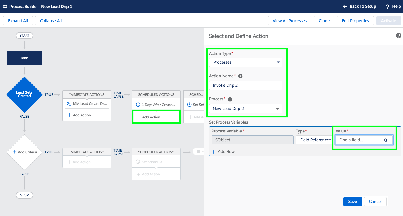 Setup Email Drip Campaign in Salesforce - Step 5-3